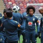 Rusia 2018: Brasil entrena en el estadio de la final del Mundial