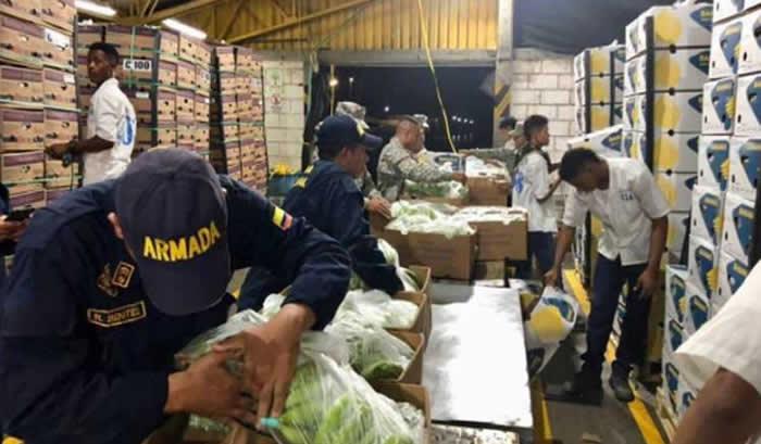 Incautan más de 6 toneladas de cocaína camufladas en bananos — Colombia