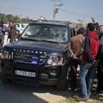 El convoy del primer ministro palestino Hamdala atacado en Gaza sin heridos
