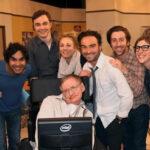 Emotiva despedida de los actores de 'The Big Bang Theory' a Stephen Hawking