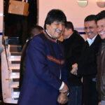 Holanda: Evo Morales llega para presentación de alegatos de demanda marítima en La Haya