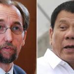ONU: Alto Comisionado sugiere evaluación psiquiátrica para el presidente filipino Duterte (VIDEO)