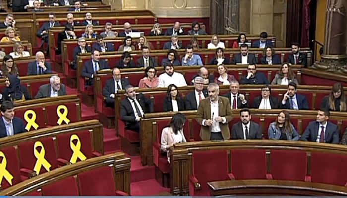 Piden pleno para garantizar investidura de Puigdemont