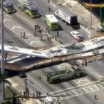 EEUU: Ingeniero avisó que el puente que se derrumbó en Miami tenía grietas (VIDEO)