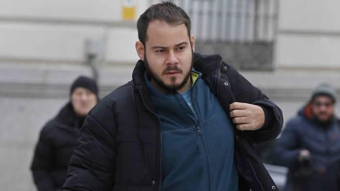 Corte española condena a rapero a dos años de prisión