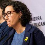 Líder independentista catalana Marta Rovira huye a Suiza