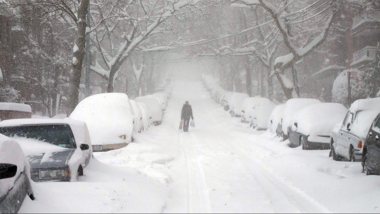 Bomba ciclónica azota Estados Unidos con lluvias, nieve y vientos