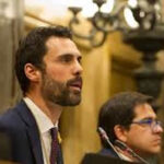 Presidente del parlamento de Cataluña moviliza este lunes Frente para salvar democracia