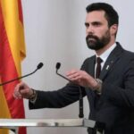 España: Cancelan votación para elegir a Turull como presidente catalán