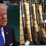 Trump ahora congela su propuesta de subir a 21 años la edad para comprar armas