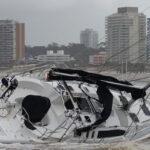 Uruguay: Fuertes lluvias y vientos huracanados causan inundaciones ycuantiosos daños (VIDEO)