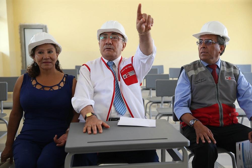 Presidente Kuczynski declaró inaugurado Año Escolar 2018