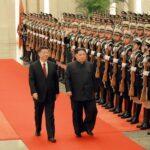 EEUU califica de paso histórico el encuentro entre Kim Jong-un y Xi Jingping