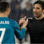 YouTube: Mira el gesto de Cristiano Ronaldo con Gianluigi Buffon
