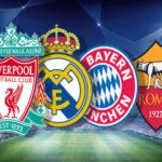 Champions League: Sorteo, hora y transmisión en vivo de las semifinales