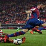 Liga Santander: Levante se encamina a la salvación al ganar 3-1 al Athletic
