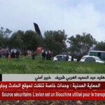 Mueren más de 100 militares al estrellarse avión militar argelino (Videos)