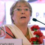 India: Bachelet subraya la necesidad de invertir en mujeres y niñas