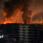 Siria recibe nuevo ataque aéreo con misiles (Videos y Fotos)