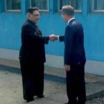 Empieza la histórica  reunión cumbre entre los presidentes de las dos coreas (VIDEO)
