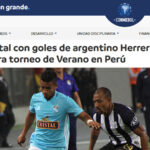 Conmebol destaca goleada de Sporting Cristal sobre Alianza Lima