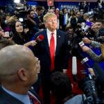 Otra vez Donald Trump no fue a celebración de la libertad de prensa