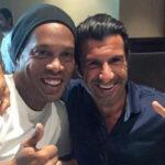 UEFA: Figo y Ronaldinho capitanes del Partido por la Solidaridad en Ginebra