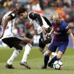 Liga Santander: Barcelona en 39 partidos sin perder ganó 2-1 al Valencia