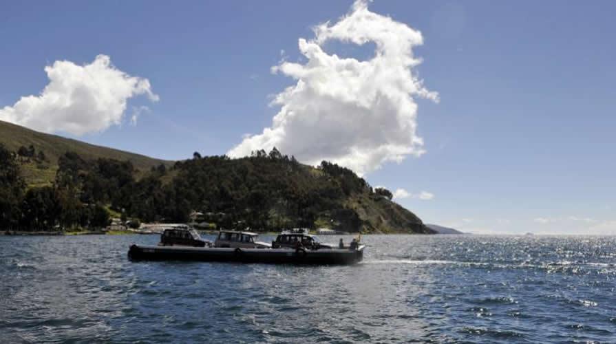 El primer museo subacuático del país será construido en el lago Titicaca
