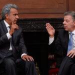 Juan Manuel Santos ofrece apoyo a Lenin Moreno ante crisis por periodistas secuestrados