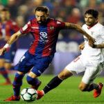 Liga Santander: Levante vivifica su permanencia ganando (2-1) al Sevilla