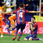 Liga Santander: Málaga pierde la categoría al caer 1-0 ante el Levante