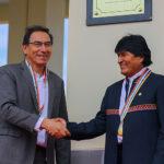 Gabinete Binacional: Vizcarra y Evo Morales hablarán sobre tren bioceánico