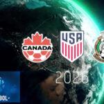 Conmebol apoya candidatura de EEUU, México y Canadá para Mundial del 2026