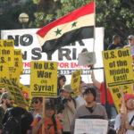 EEUU: Marchas de protesta contra el bombardeo con misiles a Siria (VIDEO)