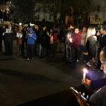 """""""Vivos los llevaron, vivos los queremos"""", el grito en la Plaza Grande de Quito"""