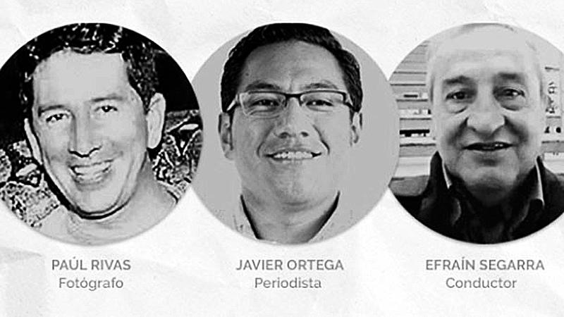 Ecuador: Presidente confirma que periodistas están muertos