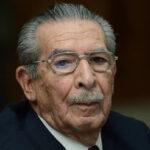 Guatemala: A los 91 años falleció ex dictador Efraín Ríos Montt en su residencia (VIDEO)