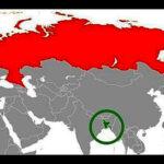 ¿Sabías que Bangladesh tiene más habitantes que Rusia?