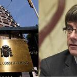 España: Tribunal Constitucional admite a trámite impugnación a la candidatura de Puigdemont
