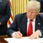 Presidente Trump firmó orden para enviar Guardia Nacional a resguardar frontera con México