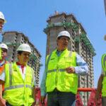 Martín Vizcarra supervisa obras en Villa de Juegos Panamericanos