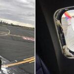 """EEUU: Rotura de ventana obliga aterrizaje de avión, mujer herida al ser """"aspirada"""" (VIDEO)"""