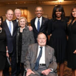 EEUU: Trump fuera de foto histórica por su inasistencia al funeral de Bárbara Bush