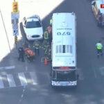 Canadá: Camioneta embistió a peatones en la acera, deja 10 heridos y conductor fugó (VIDEO)