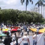 Colombia: Pobladores de Catatumbo marcharon este domingo en rechazo a la violencia armada (VIDEO)