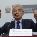 César Villanueva sustentará pedido de facultades el 18 de mayo
