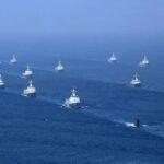 China inició susmaniobras militares con fuego real en el estrecho de Taiwán (VIDEO)