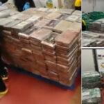 España: Decomisan 9 toneladas de cocaína, el mayor cargamento incautado en un contenedor (VIDEO)