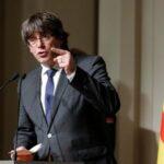 Puigdemont recurre ante justicia española su procesamiento por rebelión